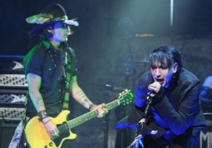 Marilyn Manson's Latest Video Is Another Tone-Deaf Affair, Starring Alleged Domestic Abuser Johnny Depp