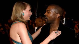 Kanye West's Fans Racked Up 700K Streams For 'Hey Mama' Day To Battle Taylor Swift's 'Reputation'