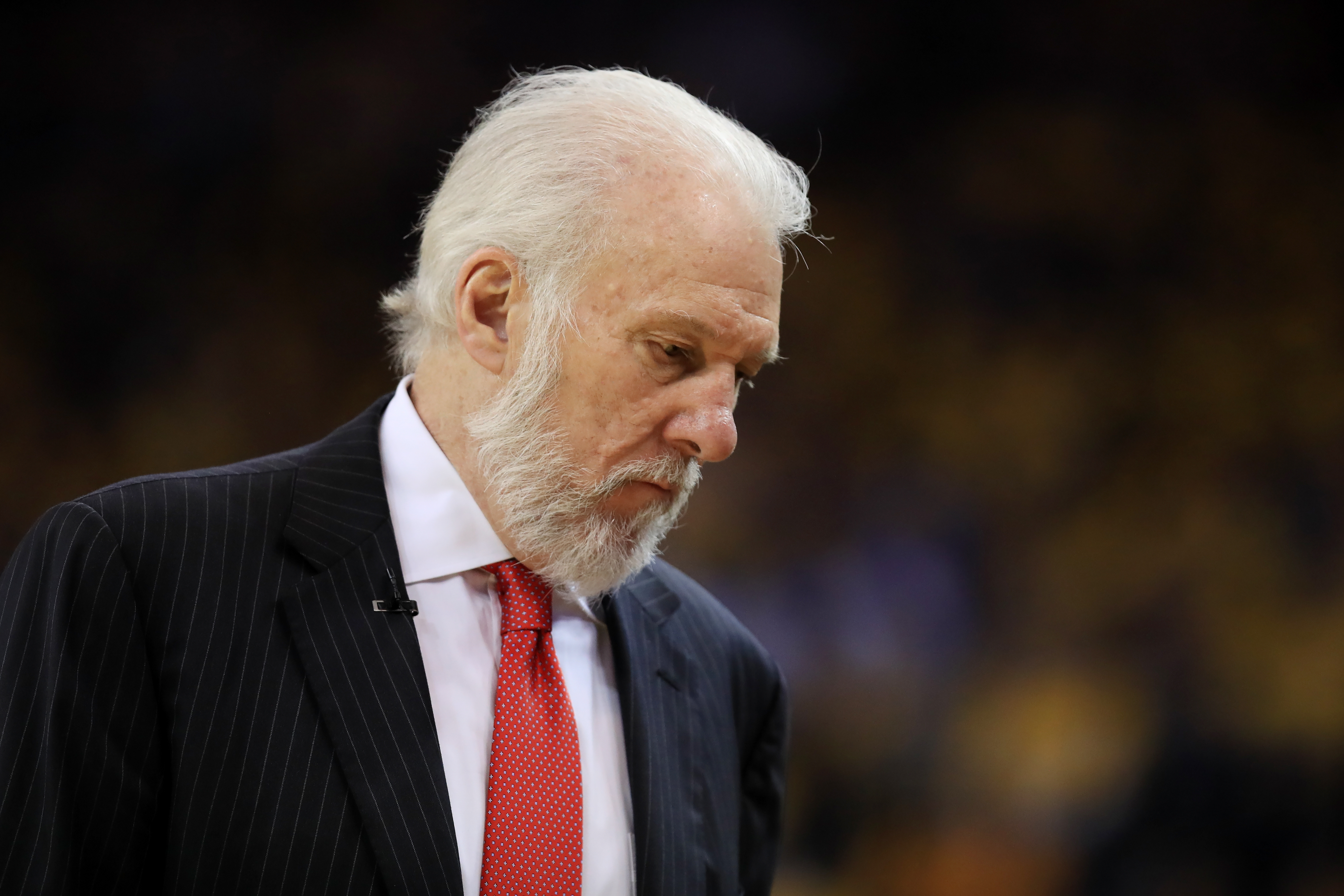It's Time San Antonio Spurs Head Coach Gregg Popovich Had His Moment