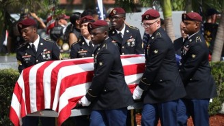 The Pentagon Confirms Recovery Of More Of Sgt. La David Johnson's Remains In Niger