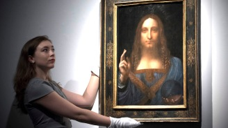 Leonardo da Vinci's 'Salvator Mundi' Sells For $450 Million, Shattering Auction Records In Its Wake