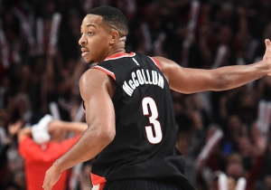 C.J. McCollum Trash-Talked Evan Fournier By Comparing Him To A Crepe