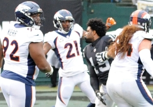Michael Crabtree And Aqib Talib Both Got Two-Game Suspensions After Their Fight