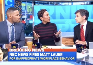 How The News World Is Reacting To The Shocking Dismissal Of Matt Lauer