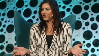 Hope Solo Claims Former FIFA Head Sepp Blatter Sexually Assaulted Her At An Awards Show