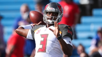 Jameis Winston And Mike Evans Started A Fight With The Saints On The Sidelines