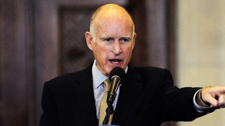 California Gov. Jerry Brown Tells Native American Anti-Fracking Protesters That He'll 'Put Them In The Ground'