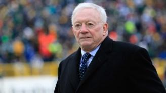 The NFL Sent Cowboys Owner Jerry Jones A Letter Reprimanding Him For 'Conduct Detrimental To The League'