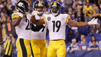 The Steelers Reenacted The A.J. Green-Jalen Ramsey Fight In A Touchdown Celebration