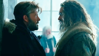 Bruce Wayne Meets A Very Unfriendly 'The Aquaman' In This Tense Clip From 'Justice League'