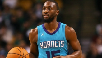 Kemba Walker Went In For X-Rays After Running Into A Nasty LaMarcus Aldridge Screen