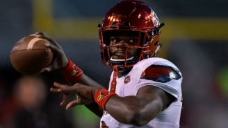 Lamar Jackson Was Penalized After Getting Into A Fight With A Kentucky Player