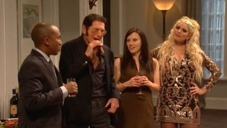 Larry David Can't Keep It Together In SNL's 'New Wife' Sketch