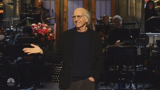 Larry David's Concentration Camp Jokes Didn't Really Go Over Well In His 'SNL' Monologue