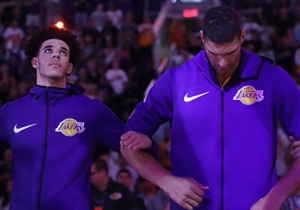 Lonzo Ball Thinks The Disney Channel Is Behind Brook Lopez's Recent Resurgence