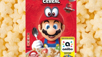 Super Mario Cereal Will Make All Your Puffed Corn Fantasies Come True