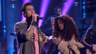 Watch Maroon 5 And SZA Perform Their Funky Collaboration 'What Lovers Do' On 'Fallon'