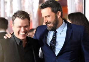 Matt Damon And Ben Affleck Are Teaming Up To Co-Write A Film For The First Time Since 'Good Will Hunting'