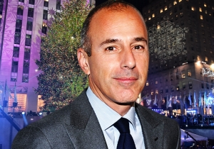NBC Is Reportedly Scrambling To Edit Matt Lauer Out Of The Rockefeller Center Tree Lighting Coverage