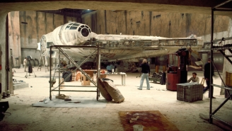Disney's 'Star Wars' Hiding Place For The Millennium Falcon Is Exposed On Google Maps