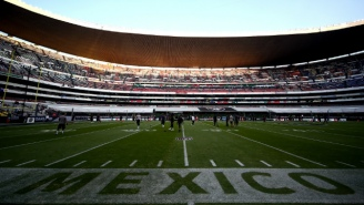The NFL Will Continue To Play Games In Mexico City Through 2021