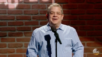 Patton Oswalt Tries To Improve Some More Mike Huckabee Jokes On 'Jimmy Kimmel Live'
