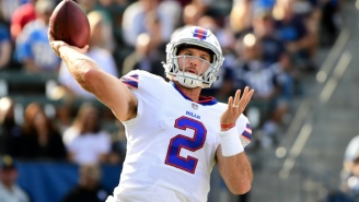 The Bills' QB Change Backfired Terribly As Nathan Peterman Threw Five First-Half Interceptions