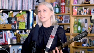 Phoebe Bridgers' Tiny Desk Performance Is A Gentle Reimagining Of Songs Off Her Strong Debut