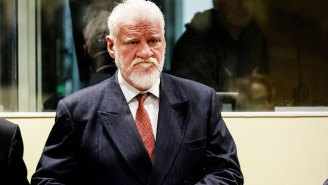 A Bosnian War Criminal Has Died From Drinking Poison In Court After Hearing His Guilty Sentence
