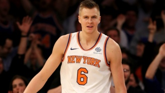 One NBA Veteran Thinks Kristaps Porzingis Can Become The Best Player In The League