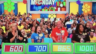 A 'Price Is Right' Contestant Wrongly Ran On Stage In Excitement After Losing A Pricing Game