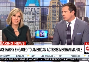 Prince Harry's Engagement To American Meghan Markle Doesn't Excite CNN's Chris Cuomo In The Slightest