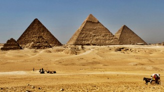 Scientists Have Uncovered A Hidden Space In Egypt's Great Pyramid