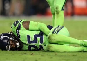 Richard Sherman Is Out For The Season After Rupturing His Achilles On Thursday Night Football
