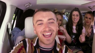 Sam Smith Makes It Look Easy As His Fifth Harmony Dreams Come True On The Latest 'Carpool Karaoke'