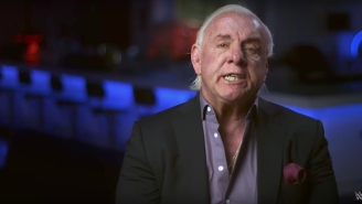 Ric Flair Was Too Weak To Open A Gatorade Bottle After His Hospitalization
