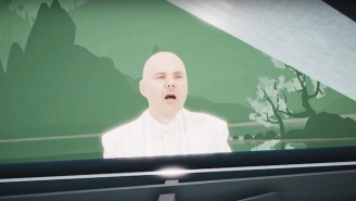 Billy Corgan's 'Aeronaut' Video Is A Surreal, Virtual Reality-Created Fever Dream