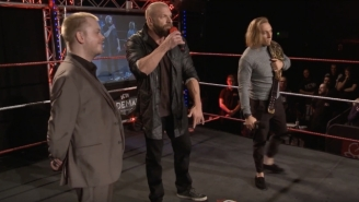 Watch Triple H Make A Surprise Appearance At Insane Championship Wrestling