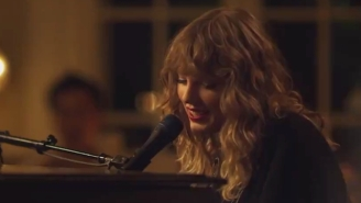 Taylor Swift Debuts The Piano-Driven Sing-Along 'New Year's Day' During 'Scandal'