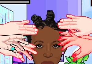 This New Video Game About Black Hair Is A Lesson In Personal Space