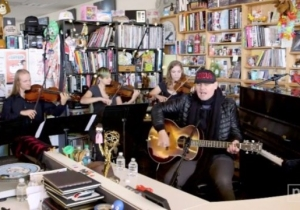 Billy Corgan Opened His Tiny Desk Concert With A Rousing Rendition Of A Smashing Pumpkins Classic
