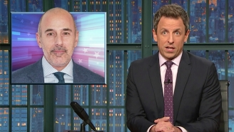 Seth Meyers Doesn't Hold Back While Discussing His Former NBC Co-Worker Matt Lauer