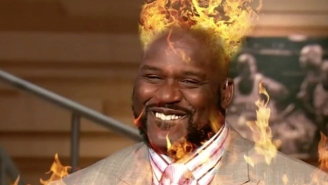 Shaq Took The 'One Chip Challenge' And Didn't Fare As Well As He Hoped