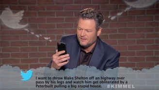 Blake Shelton, Chris Stapleton And More Of Country Music's Best Read Some CMAs Mean Tweets On 'Kimmel'