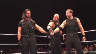 Triple H Joined The Shield At A WWE Live Event In Glasgow
