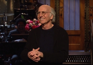 'SNL' Scorecard: Larry David Was Good, But It's Time For Baldwin's Trump To Go