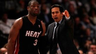 Heat Coach Erik Spoelstra: Dwyane Wade On The Cavaliers 'Will Never Seem Right'
