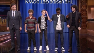 The 'Stranger Things' Kids Show Off Their Dance Moves In This Upside Down Contest On 'The Tonight Show'