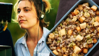 Here's Your New Favorite Stuffing Recipe, From 'Lady Bird' Director Greta Gerwig