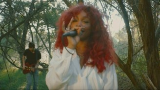 SZA's Stripped-Down Video For 'Go Gina' Provides A Peaceful Moment In Her Busy, Successful Year